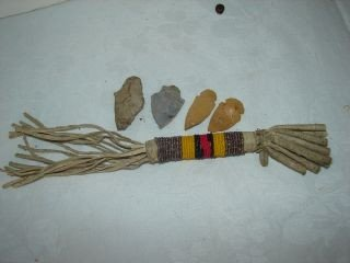 13A: Native American Beaded Ceremonial Piece
