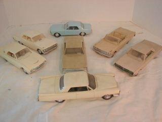 5: Group of 7 Model/Salesman Sample Cars