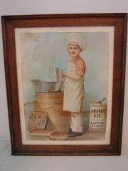 9: Lotus Flour Arendt Co. Framed Advertismemtn
