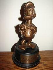 100: Rare 1952 Walt Disney Donald Duck Duckster Award
