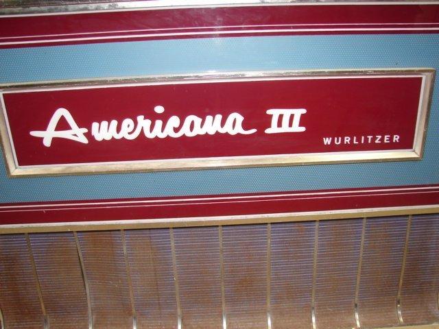 47: Wurlitzer Americana III Juke Box - 3