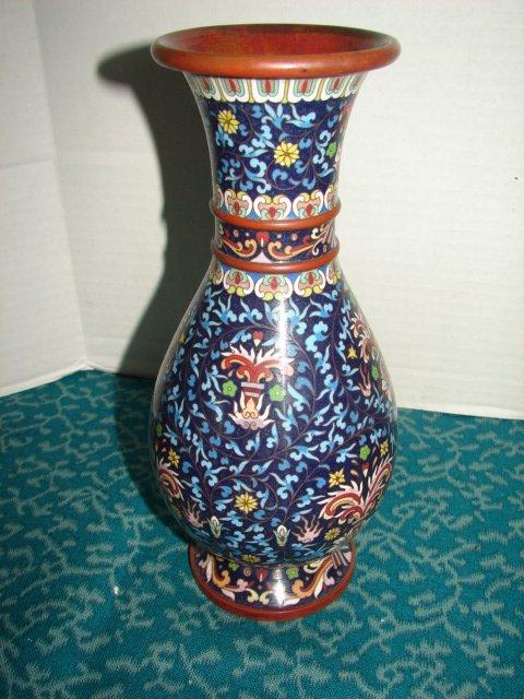 3: Oriental Cloisonne Vase