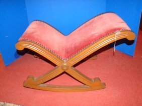 Victorian Gout Stool