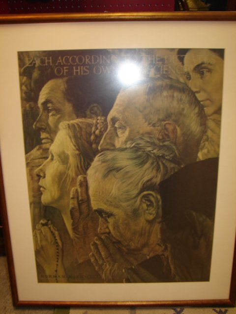 21: Norman Rockwell Print
