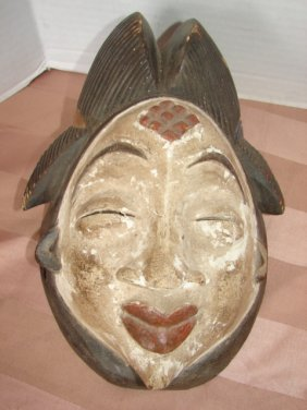 3: Oriental Carved Wood Mask