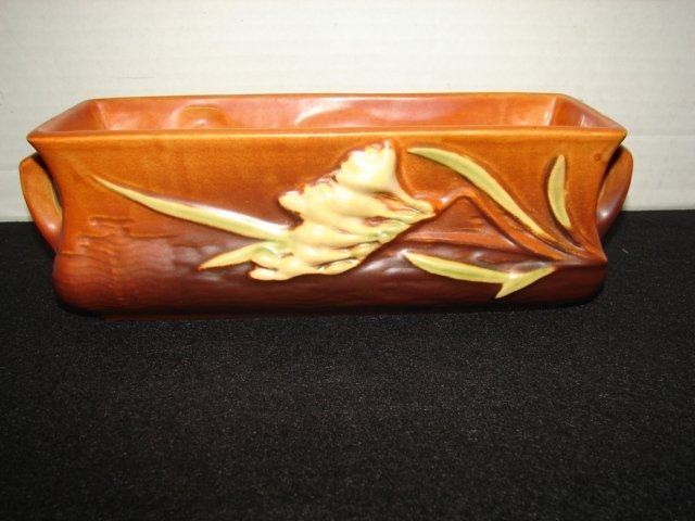 4: Roseville Pottery Freesia Planter