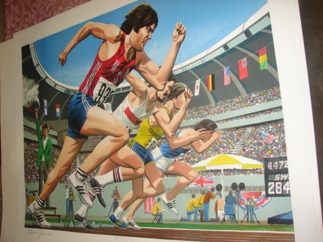 19: Bruce Jenner Decathlon Suite of Engravings