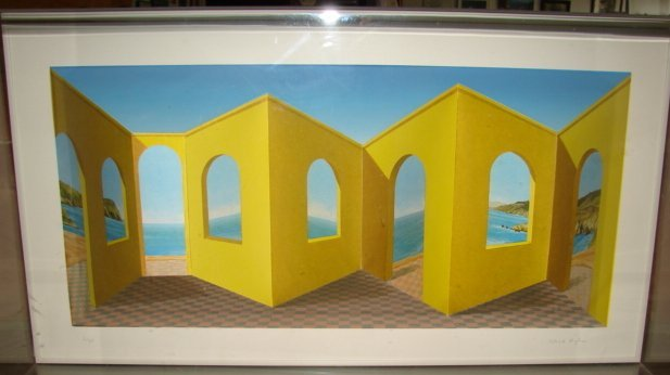 Patrick Hughes 3 Dimensional Art Signed & Numbered