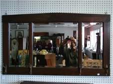 Arts  Crafts Oak Hall Mirror