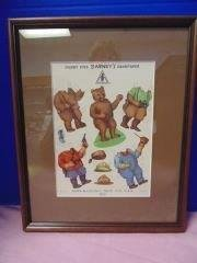 Litho Bear Paper Doll  Advertisment for Barney's