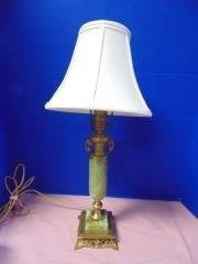 Green Onyx Table Lamp
