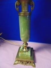 Green Onyx Table Lamp - 2