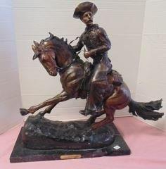 Bronze Remington Cowboy