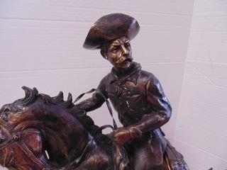 Bronze Remington Cowboy - 2