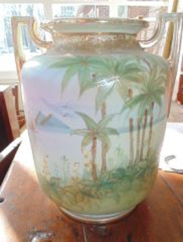 Scenic Nippon Vase