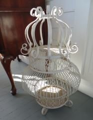 Wrought Iron Decorative Cage