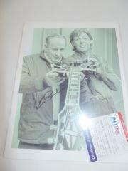 Les Paul Autographed Photo with Paul McCartney
