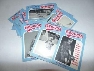 Indianapolis Clowns Negro League Baseball Cards
