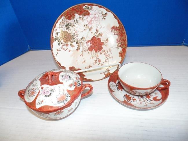 Oriental Plate Set