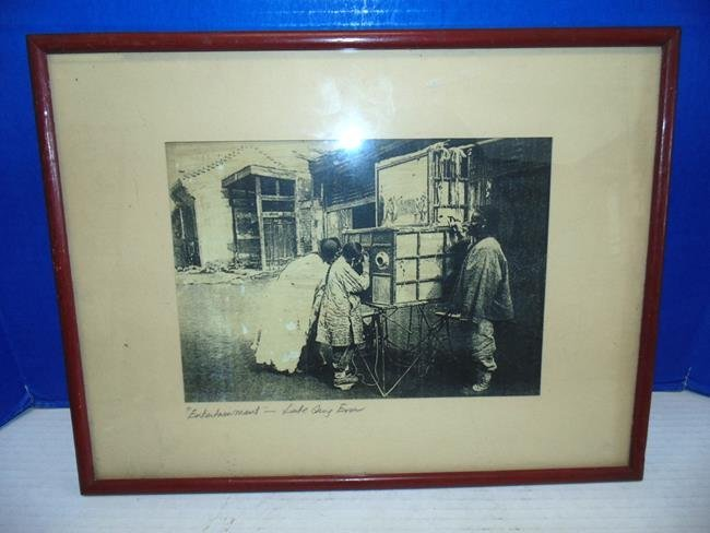 Oriental Print of Asian Photograph
