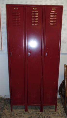 Triple Door Locker