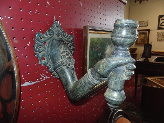Wall Vase in Shape of Womans Arm