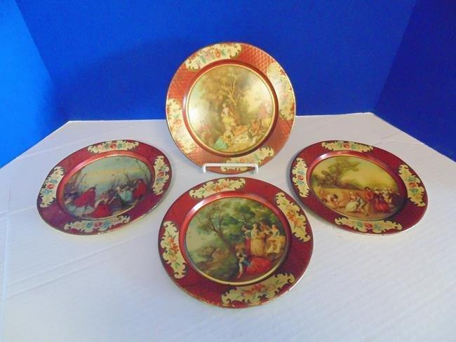 Set of  Belgium Tin Plates