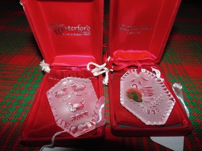 Waterford Crystal Pendants