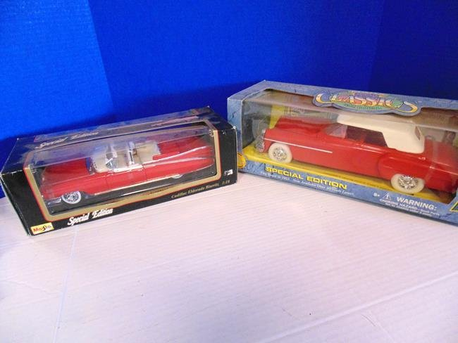 2 Classic Collectible Boxed Vehicles