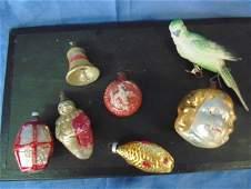 Christmas Glass Figural Ornaments