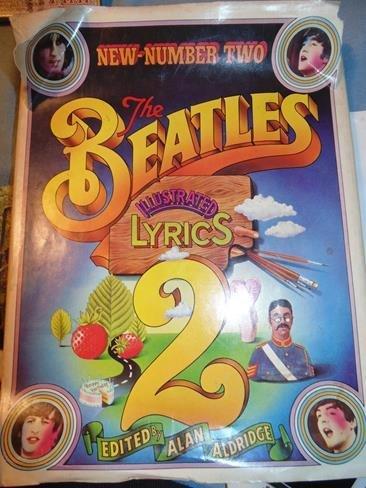The Beatles Illustrated Lyrics Book