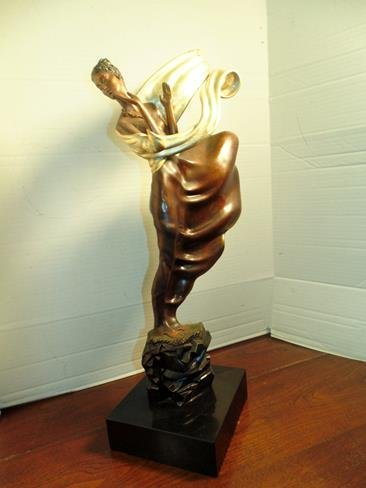 Erte Bronze Signed & Numbered