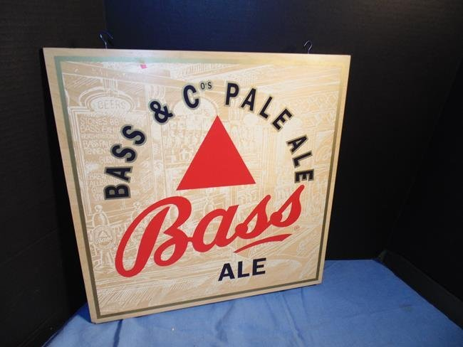 Bass & Co Pale Ale Advertising Sign