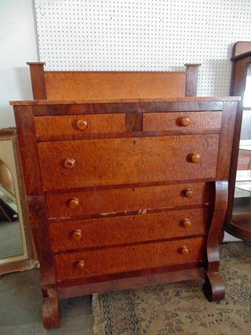 Curley  Maple Chest