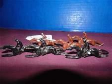 Lead Figure  Horses with Jockey