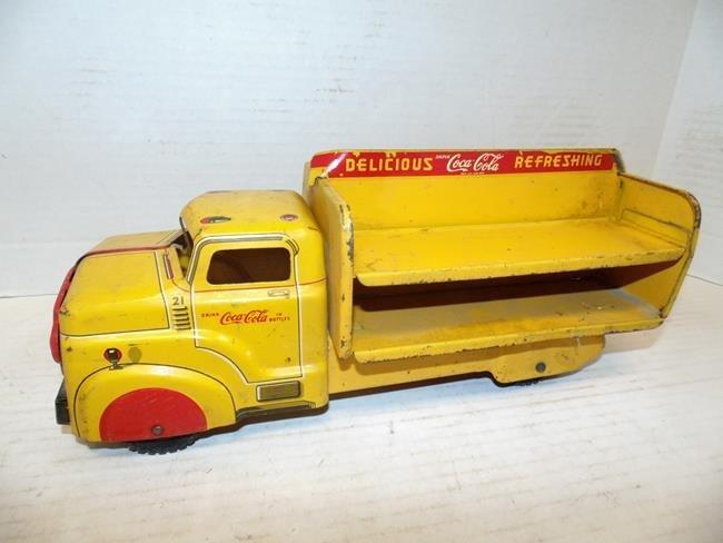 Marx Steel Coca Cola Truck