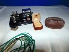 David Brown Toilet Soap & Telegraph Set