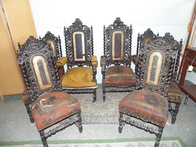 Black Forest Dining Room Chairs