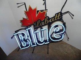 Labatt Blue Neon Beer Advertising Neon Light