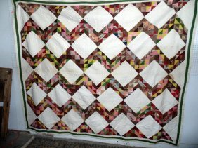 Early Hand Stitched Quilt