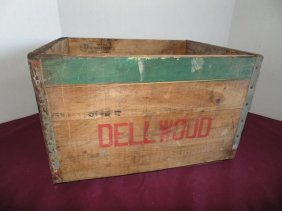 Dellwood Advertising Crate