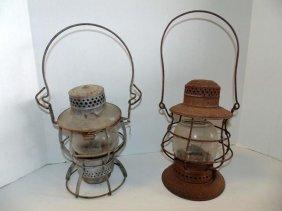 New York Central Railroad Lanterns