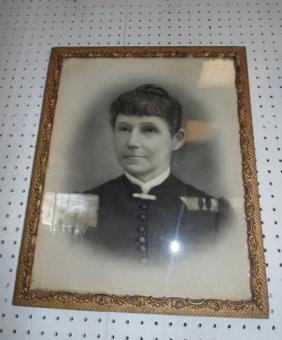 Framed Ancestor Picture