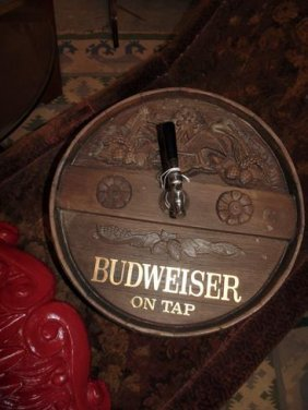 Budewiser Beer Advertising Beer Tap