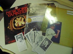 Baseball Programs & Babe Ruth