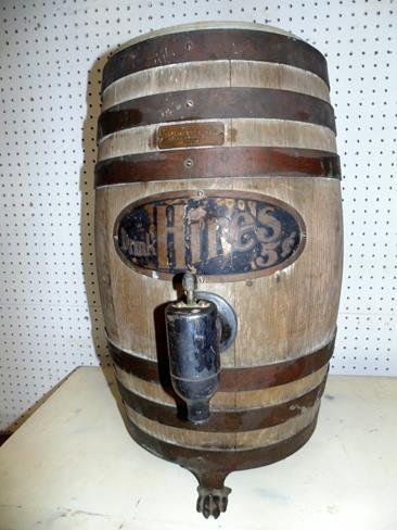 Hires Root Beer Barrel