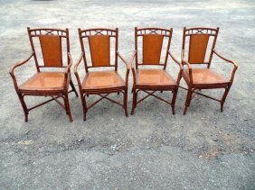 Bamboo Dining Chairs