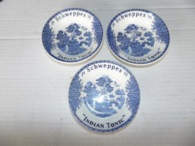 Schweppes Indian Tonic Cup Plates`