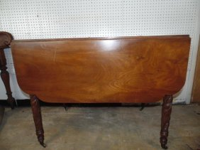 19thc Drop Leaf Table