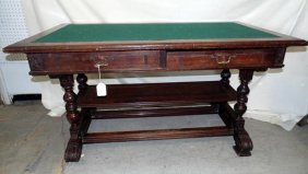 New York Public Library Table 1880's
